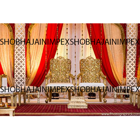 Wedding Mandap Chairs Set