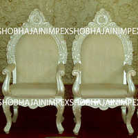 Mandap Chairs for Bride and Groom