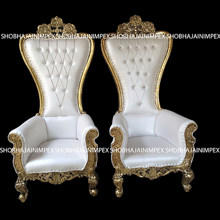 Modern Wedding Chair Set