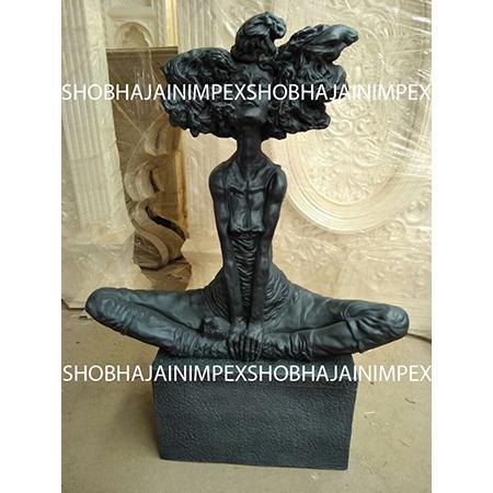 Roman Fiber Statue