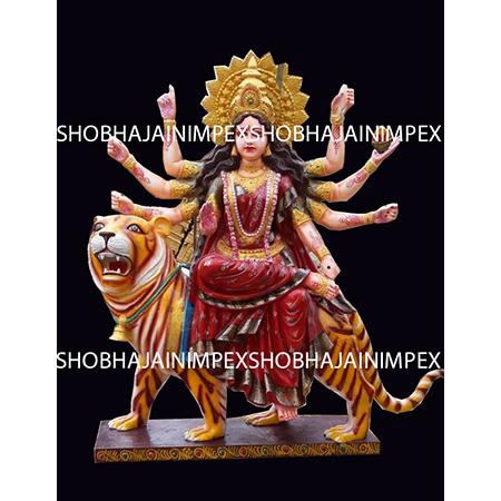 Durga Mata Fiber Statue
