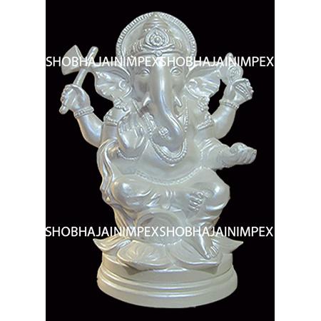 Fiber Ganesh ji Statue for Decoration