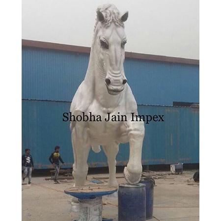 Horse Fiber Statue