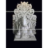 SItting Ganesh ji Statue with Back