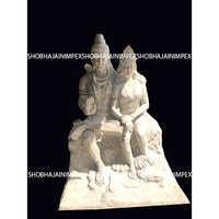 Fiber statue and sculpture
