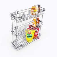 Bottle Pullout 3 Shelf Luma