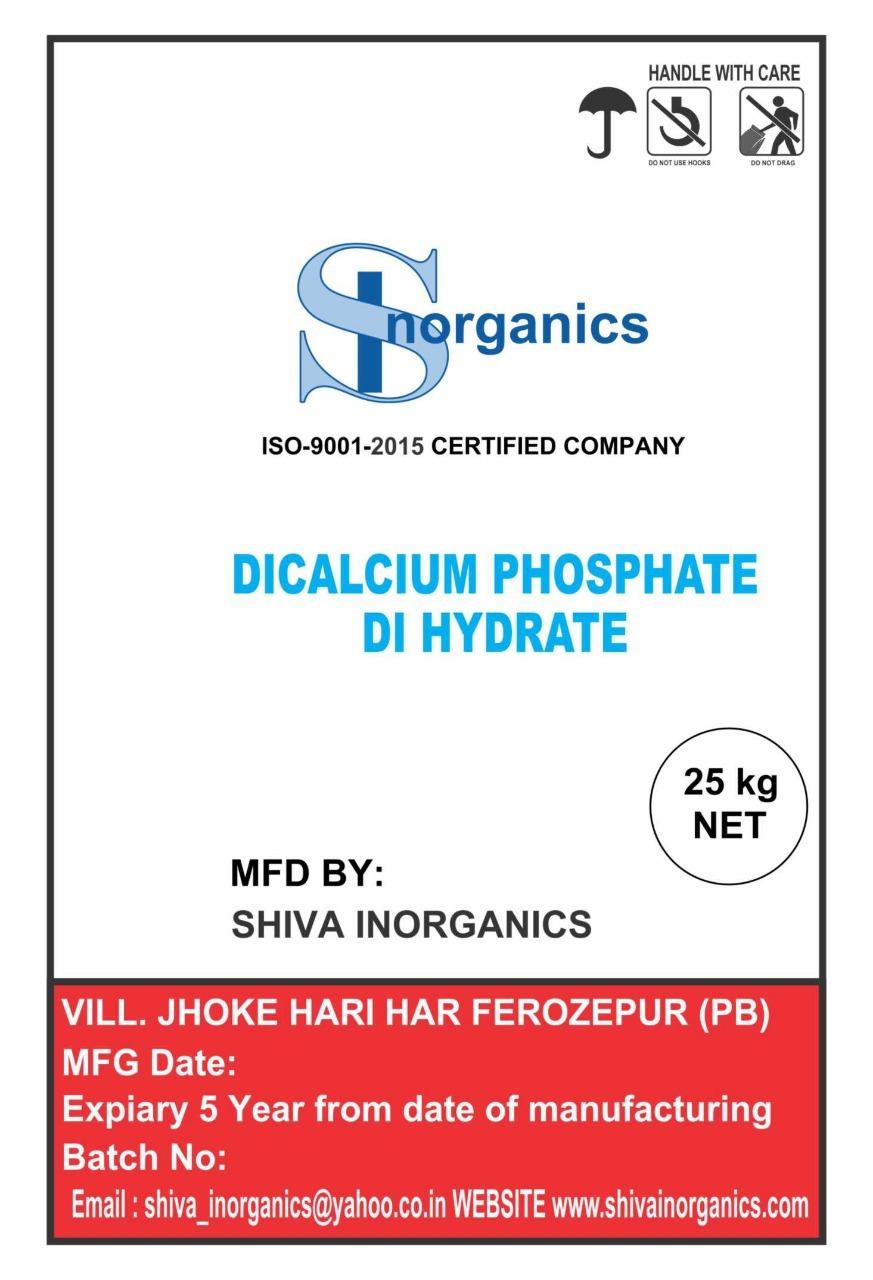 Dicalcium Phospahate Di Hydrate