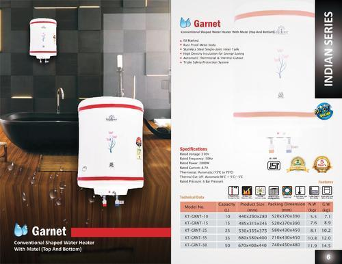 Kalptree - Garnet  25 Liters - Electric Water Heater / Geyser(All India Home Service)