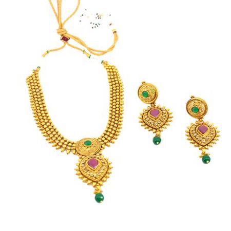 Austrian Diamonds L.C.T Necklace Set