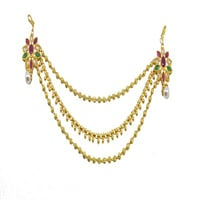 Hi Gold LCT Ruby Onex With Pearl Reverse AD Veni
