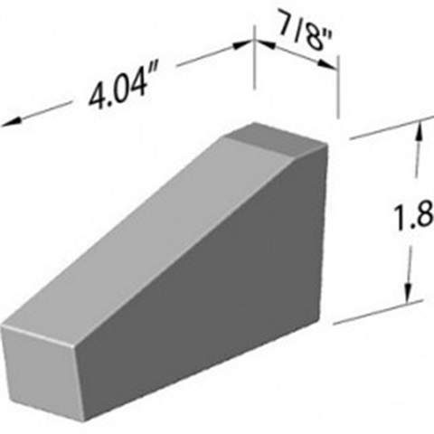Long Ramp Tungsten Steel Bucking Bar