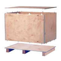 Nailless Plywood Packing Boxes