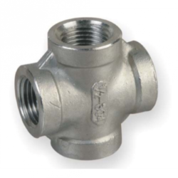 Stainless Steel Socket Weld Cross Fitting