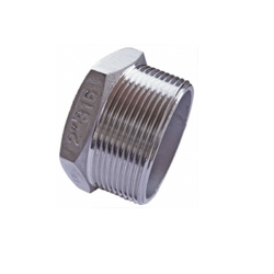 Stainless Steel Socket Weld Plug Fitting 316