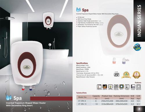 Kalptree - Spa 10 Liters - Electric Water Heater / Geyser. All India Home Service