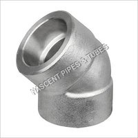 Stainless Steel Socket Weld Elbow Fitting ASTM A182