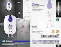 Kalptree - Snippy 3 Liters - Instant Electric Water Heater / Geyser (All India Home Service)