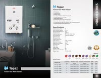 Instant Gas Water Heater (Kalptree)