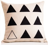 Digital Printed Geometrical design Cushion Cover