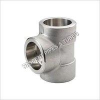 Stainless Steel Socket Weld Tee Fittings 316