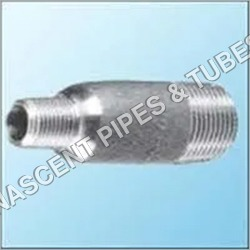 Stainless Steel Socket Weld Swage Nipple Fitting 347
