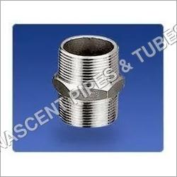 Stainless Steel Socket Weld Hexagon Nipple Fitting