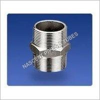 Stainless Steel Socket Weld Hexagon Nipple Fitting 321