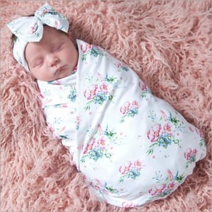 Muslin Baby Swaddles with Double Cloth