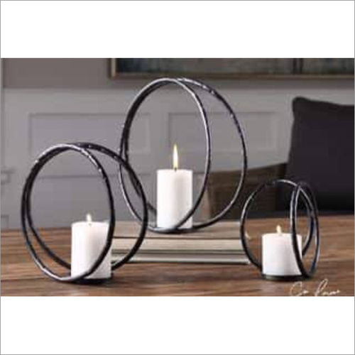 Aluminium Candle Holder