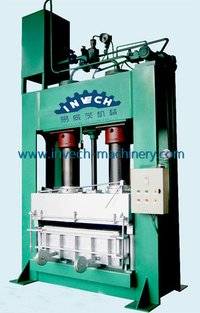 Hydraulic Wood Sawdust Pallet Making Machine