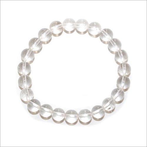 Clear Quartz Bead Bracelet