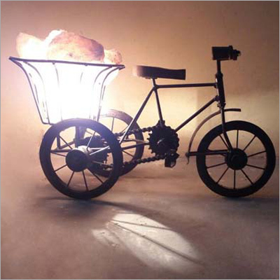 Cycle Salt Lamp
