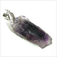 Amethyst Abstract Pendant