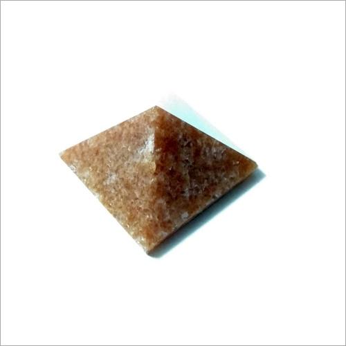 Golden Aventurine Pyramid