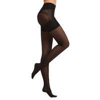 Patent Tights  with Ladies Shaper  Black