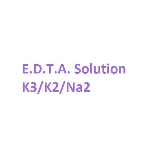 E.D.T.A. Solution