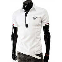 Mens Polo White T-Shirt