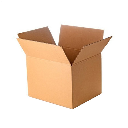Brown Plain Corrugated Boxes