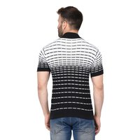 Mens Flat Knit Half Sleeve T Shirt