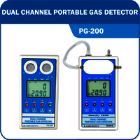 DUAL CHANNEL PORTABLE GAS DETECTOR