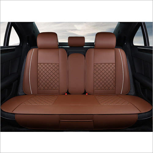 Brown Car Back Seat Cover