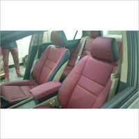 Maroon Car Seat Cover
