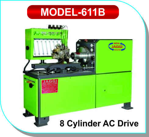 8 Cylinder AC Drive Test Bench