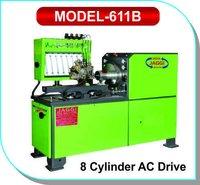 8 Cylinder CRDI & EDC AC Drive Test Bench