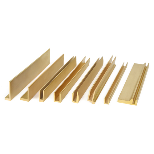 Extruded Brass Profiles