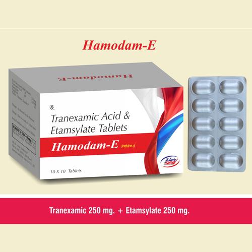 Tranexamic  500 mg. + Mefenamic 250mg