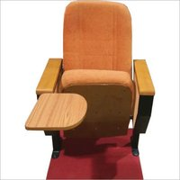 Auditorium Writting Pad Push Back Chairs