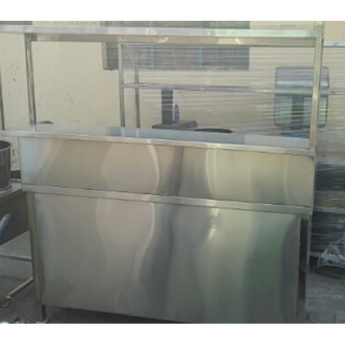 Steel Service Display Counter