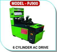 6 Cylinder AC Drive Test Bench