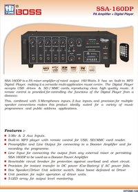 Hitone Boss Amplfier 160 Watts